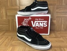 RARE🔥 VANS Sk8-Mid Vert PRO Jeff Grosso Black Sz 13 Men's Skateboarding Shoes