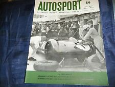 STIRLING MOSS JACK FAIRMAN ASTON MARTIN DBR 1959 NURBURGRING 1000KM PORSCHE RSK