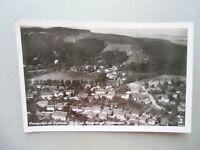 Ansichtskarte Georgenthal im Thüringer Wald Kurhotel Schwimmbad 1943 Luftbild