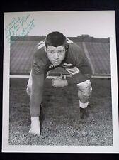 AIR FORCE PILOT JACK LEE NOTRE DAME FOOTBALL AUTOGRAPH 8X10 PHOTO ORIGINAL 1953