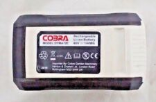 4Ah 40 volt battery is compatible with the Cobra 40v li-ion cordless garden rang