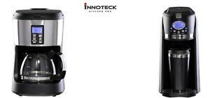 Bean to Cup Jug Filter Coffee Machine Digital Brewing Grinder Timer Coffee Maker