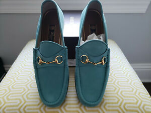 Gucci men US 11.5 - Eugene Verdant Green, 1953 - NIB w/ Tags and Shoe Bags.