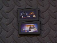 Lot Nintendo Game Boy Advance GBA Games Hot Wheels Titles 4
