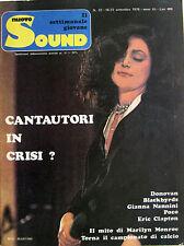 NUOVO SOUND 32 1976 Mia Martini Alan Parsons Eric Clapton Donovan Paul McCartney