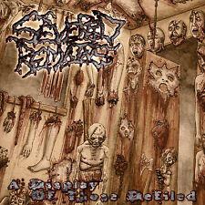 """SEVERED REMAINS """"A Display of Those Defiled"""" death metal CD"""