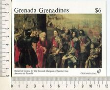 36785) GRENADA Grenadines 1992 MNH** Painting by Pereda s/s