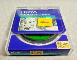 55mm Hoya G X1 Green Lens filter X 1 Japan Coated New Color Conversion 55 mm