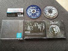 Edguy - Tinnitus Sanctus /Live in Los Angeles Japan Press w/Obi 2x Cd Mint & New