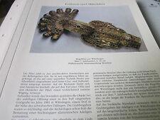Archiv Bayerische Geschichte 1 bis Mittelalter 1097 Bügelfibel Wittislingen