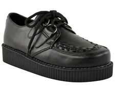 Creepers Shoes Women's Size 8 Black Vegan Punk Goth Rockabilly