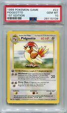 Pokemon Base Set 1st Edition RARE Card #22/102 Pidgeotto