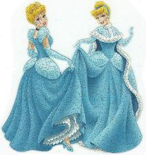 Cinderella Glitter Iron On Transfer Patch Craft Embellishment T-Shirt