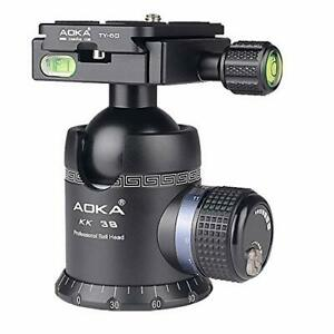 AOKA Professional 360-Degree Rotating Panoramic Ball Head with 1/4-inch Quick...