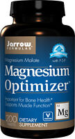 JARROW FORMULAS Magnesium Optimizer (mit Vit B6) 200 Vegane Tabl VERSAND WELTWEI