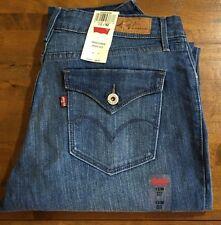LEVI'S CURVE ID BOLD CURVE CLASSIC BOOT CUT LEG Jeans - Women's 12 Medium NWT