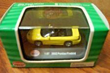MODEL POWER MINIS DIECAST 2002 PONTIAC FIREBIRD Yellow HO SCALE 1/87