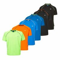 Trespass Ethen Active Mens Short Sleeve Top Gym Running Cycling Active Shirt