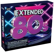 """EXTENDED 80s THE DEFINITIVE 12"""" COLLECTION 3 CD DELUXE BOX SET """"NEW&SEALED"""""""