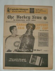 THE HOCKEY NEWS May 10 1969 Vol.22 #31 Canadiens Capture 16th Stanley Cup!