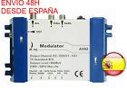 Modulador Video Audio Modulator TV TDT SAT PC CCTV CAMARAS por Toda la Casa