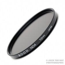Kood Pro 72mm Densidad Neutra Nd4 filtro, hecho En Japón