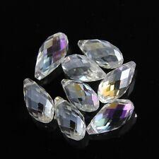 4pcs 10X20mm Swarovski Teardrop  crystal bead B Clear AB