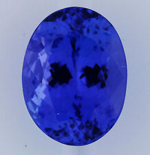 3.84ct!! NATURAL TANZANITE EXPERTLY FACETED IN GERMANY +CERTIFICATE INCLUDED