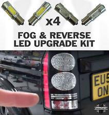 4pc REVERSE & Brouillard Ampoule DEL Feu arrière mise à niveau Land Rover Discovery 3/4 Lampe LR3
