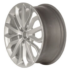 58896 Factory, Oem 19X8.5 Alloy wheel Bright Silver Metallic Full Painted