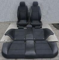 BMW 3 er E90 LCI Schwarz Leder / Stoff Elektrisc Innensitze OHNE Türverkleidung