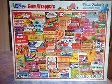 Bubble Gum Wrappers Puzzle White Mountain 1000 Pieces Excellent Complete Rare