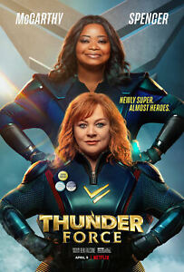 "Thunder Force Poster Art Print Size 16""x24"" 24""x36"""