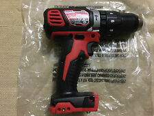 NEW MILWAUKEE M18 1/2  HAMMER DRILL DRIVER 2607-20 LITH-ION (TOOL ONLY)