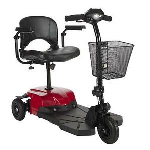 NEW Drive BOBCATX3   3 Wheel Mobility Scooter Compact Transportable Lightweight