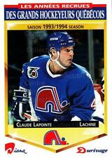 1993-94 Durivage Score #24 Claude Lapointe