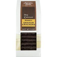 Philadelphia Candies Honey Graham Crackers, Dark Chocolate Covered 9 Ounce Gift