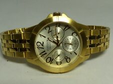 Preowned Citizens Mens Watch 6329 Gold in Color New Battery