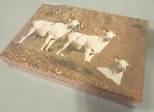 1986 NEW DEAD STOCK ALASKA PUZZLE CO. DALL'S SHEEP RAMS 500 JIGSAW PUZZLE 13X20""