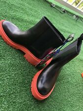 Kenzo H&M collaboration short boots Women 8.5 New w/Tags!
