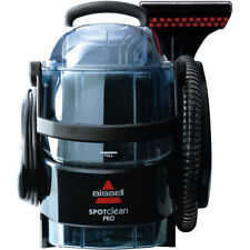 Bissell 1558E SpotClean Pro Carpet Cleaner 750 Watt with Heated Cleaning 2 Year