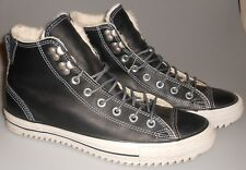 Converse All Star Men's Hi Top Leather Sneakers/Boots Wool lined Size 10