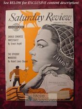 RARE Saturday Review February 26 1955 RENATA TEBALDI Ernest Angell