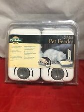 NIB NEW PetSafe 2 Meal Pet Feeder Programmable PF2-19 FACTORY SEALED