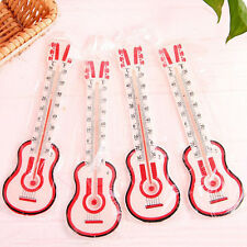 Cute Thermometer Indoor Outdoor Wall Office Laboratory Home Garage  Guitar Style