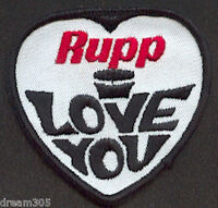 Vintage RUPP I LOVE YOU Snowmobile Ski Sled Patch 1960's 1970's NICE