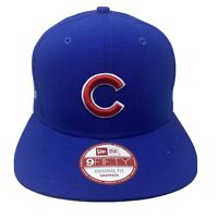 New Era MLB 9Fifty CHICAGO CUBS Embroidered 950 Snapback Cap Hat NWT