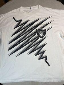 Raiders Shockwave Starter Shirt XXL Vintage 2X
