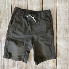 Hanna Andersson Woven Camp Shorts Gray