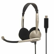 Koss CS100USB Gamer Skype Headphones with USB Microphone